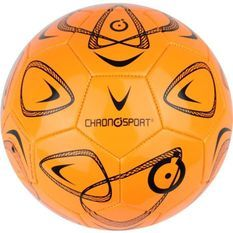 CHRONOSPORT Ballon de Foot Loisir T4 Orange