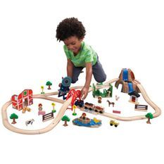 Circuit de Train Ferme KidKraft 17827