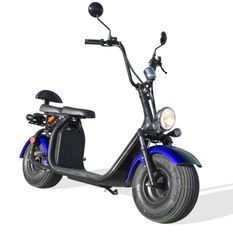 Citycoco homologuée bleu 1500W lithium 60V 20Ah