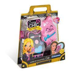 CLEMENTONI Crazy Chic - Mini palette de Maquillage Enfant - Modele Chat