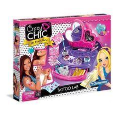 CLEMENTONI Crazy Chic - Mon atelier Tatoo