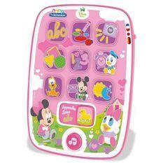 CLEMENTONI Disney Baby - Ma premiere Tablette Minnie - Jeu d'éveil
