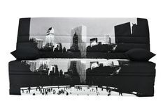 Clic Clac New York couchage 130x190 cm matelas 11 cm Vania