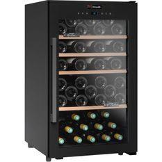 CLIMADIFF CS63B1 Cave a vin de service simple zone - 63 bouteilles - Pose libre - L50cmxH 85,5cm