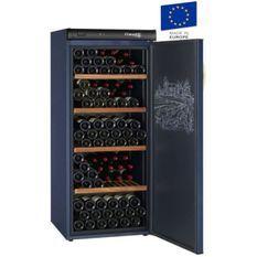 CLIMADIFF CVP180 - Cave a vin de vieillissement - 180 bouteilles - Pose libre - Classe A - L 62 x H145 cm