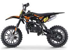 Moto cross enfant 50cc 2 Temps 10/10 orange Kobra