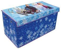 Coffre à jouets pliable avec oeillets Reine des neiges Disney