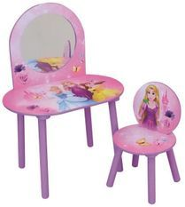 Coiffeuse avec chaise Princesses Disney