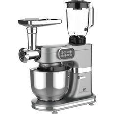 CONTINENTAL EDISON Robot pâtissier multifonctions - 1000 W - Gris