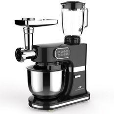 CONTINENTAL EDISON Robot pâtissier multifonctions - 1000 W - Noir