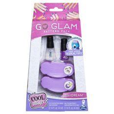 COOL MAKER Go Glam Nail Stamper - Grandes recharges- Modele aléatoire