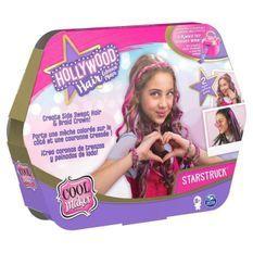 COOL MAKER - RECHARGES Hollywood Hair Studio - 6058276 - Plusieurs modeles pour créer coiffures sur cheveux - Loisirs créatifs
