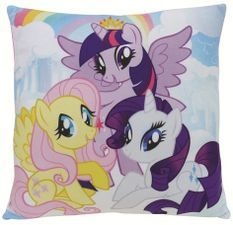 Coussin carré brodé My Little Pony