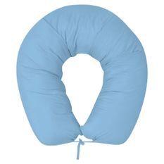 Coussin de grossesse 40x170 cm Bleu clair