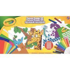 Crayola - Coffret de Mosaique - Activités pour les enfants - Kit Crayola