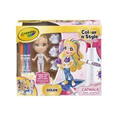 CRAYOLA Color n' style Friends Catwalk