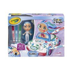 CRAYOLA Color n' style Friends Color Cars
