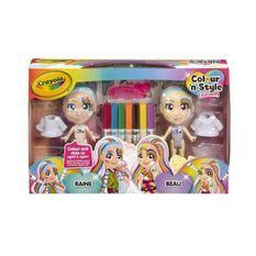 CRAYOLA Colour'n'style Rainbow Twins