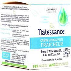 Creme hydratante* Fraîcheur
