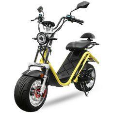 Cruzer i12 2100W jaune Scooter électrique homologué