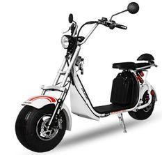 Cruzer S12 1500W lithium blanc scooter électrique homologué