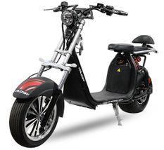 Cruzer V2 1500W lithium gris mat 8 pouces scooter électrique homologué