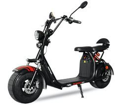 Cruzer V2 1500W lithium noir 8 pouces scooter électrique homologué