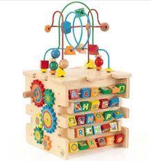 Cube d'activité bébé en bois Kidkraft 63243