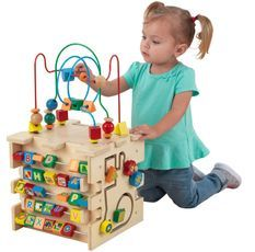 Cube d'activités en bois de luxe Kidkraft 63298