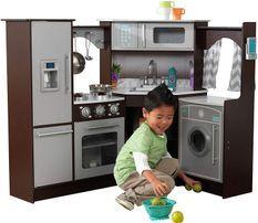 Cuisine d'angle enfant avec sons et lumières Kidkraft 53365