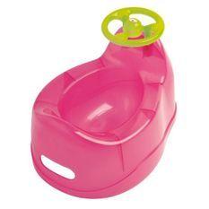 DBB REMOND Pot pour bébé avec volant - Rose translucide