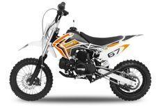 Dirt Bike 110cc Storm e-start automatique 14/12 orange