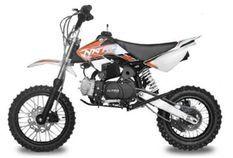 Dirt Bike 110cc Skin orange 12/10 e-start automatique 4 temps