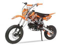 Dirt Bike 125cc Prime orange 14/12 automatique