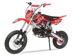 Dirt Bike 125cc Prime rouge 14/12 automatique