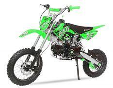 Dirt Bike 125cc Prime vert 14/12 automatique