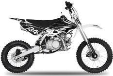 Dirt bike 140cc Drizzle 17/14 manuel 4 temps noir
