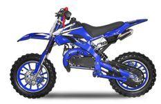 Dirt bike 49cc Spider midi 10/10 bleu