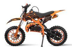 Dirt bike 49cc Spider midi 10/10 orange