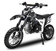 Dirt Bike 49cc Flash 10/10 e-start noir