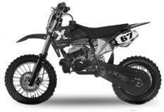 Dirt Bike 49cc NRG 14/12 Kick starter automatique noir