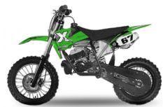 Dirt Bike 49cc NRG 14/12 Kick starter automatique vert
