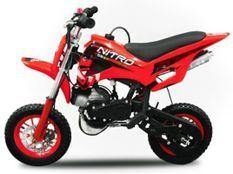 Dirt Bike 49cc rouge DS67 7/7