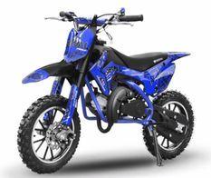 Dirt bike 49cc Serval 10/10 automatique bleu