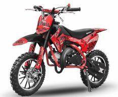 Dirt bike 49cc Serval 10/10 automatique rouge