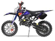 Dirt Bike 49cc Sport 10/10 automatique e-start bleu