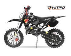 Dirt Bike 49cc Sport 10/10 automatique e-start noir