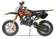 Dirt Bike 49cc Sport 10/10 automatique e-start orange