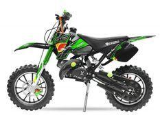 Dirt Bike 49cc Sport 10/10 automatique e-start vert