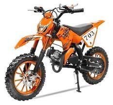 Dirt Bike 49cc Super cross 10/10 orange